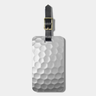 ゴルフ・ボールは質パターンに窪みを作ります バッグタグ