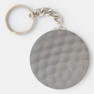 ゴルフ・ボールパターン質 キーホルダー