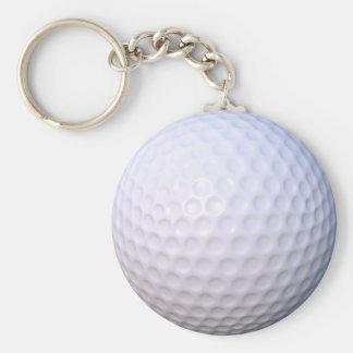ゴルフ・ボールボタンのキーホルダー キーホルダー