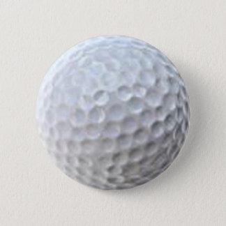 ゴルフ・ボールボタン 5.7CM 丸型バッジ