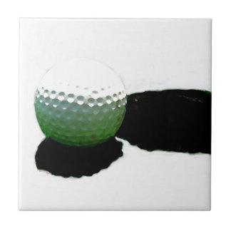 ゴルフ・ボール及び穴 タイル