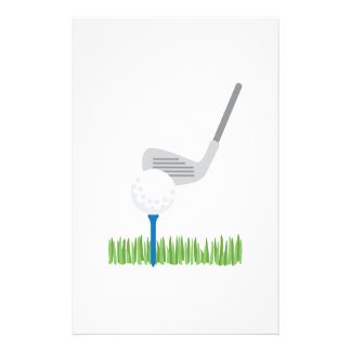 ゴルフ・ボール及び鉄 便箋