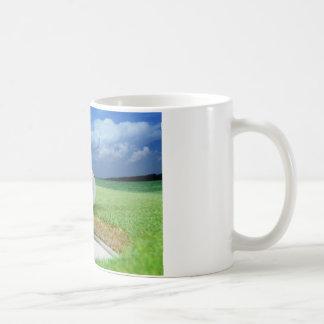 ゴルフ・ボール3のコーヒー・マグ コーヒーマグカップ