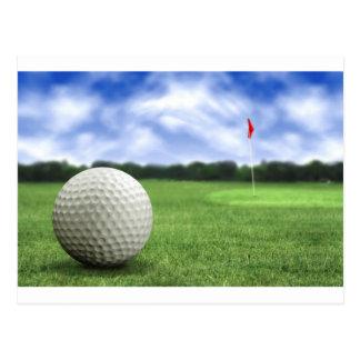 ゴルフ・ボール4 ポストカード