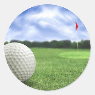 ゴルフ・ボール4 ラウンドシール