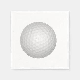 ゴルフ・ボール スタンダードカクテルナプキン