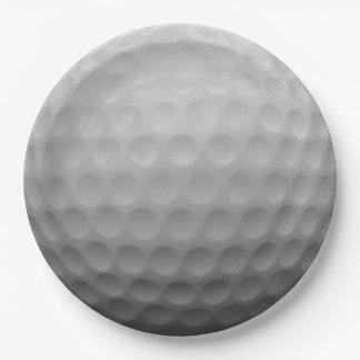 ゴルフ・ボール ペーパープレート