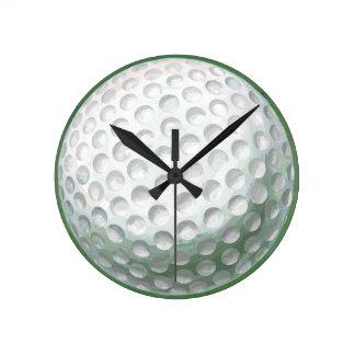 ゴルフ・ボール ラウンド壁時計