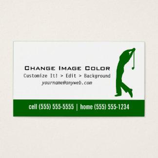 ゴルフ-個人事業カード 名刺