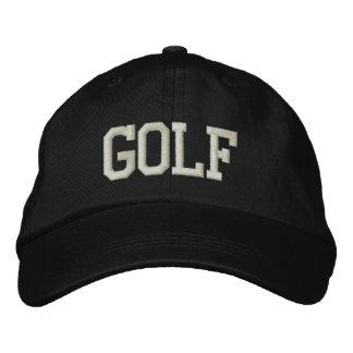 ゴルフ 刺繍入りキャップ