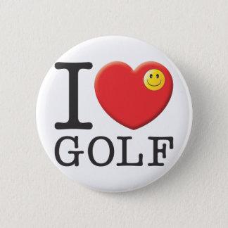 ゴルフ 5.7CM 丸型バッジ