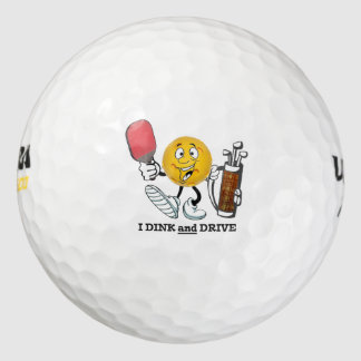 ゴルフ/Pickleball: I dink及びドライブ ゴルフボール