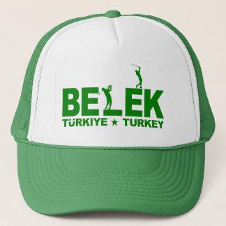 ゴルフBELEK帽子-緑 キャップ