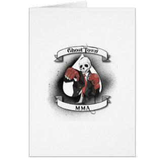 ゴーストタウンの混合された武道 カード