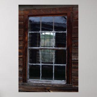 ゴーストタウンの窓 ポスター