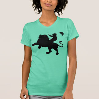 ゴーストタウンの音タンク(レディース) Tシャツ