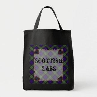 ゴードンのスコットランドの一族のタータンチェック-格子縞 トートバッグ