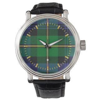 ゴードンの一族のタータンチェックの腕時計 腕時計