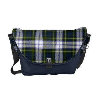 ゴードンの服のタータンチェック格子縞のメッセンジャーバッグ メッセンジャーバッグ