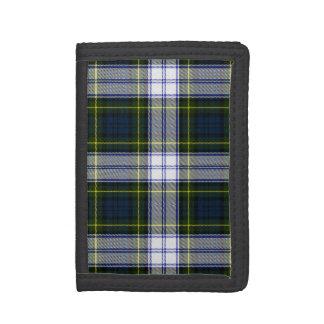 ゴードンの服のタータンチェック格子縞の財布
