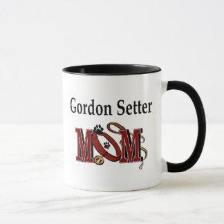 ゴードンセッターのお母さんのマグ マグカップ
