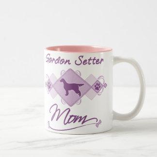 ゴードンセッターのお母さん ツートーンマグカップ