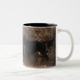 ゴードンセッターのツートーン陶磁器のマグ ツートーンマグカップ