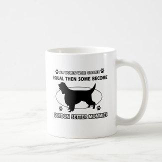 ゴードンセッターのデザイン コーヒーマグカップ