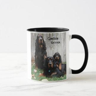 ゴードンセッターの世代別陶磁器のマグ マグカップ