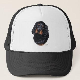ゴードンセッターの子犬 キャップ