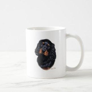 ゴードンセッターの子犬 コーヒーマグカップ