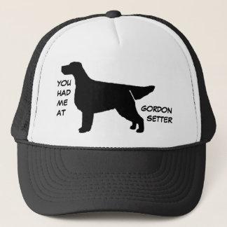 ゴードンセッターの帽子で私がありました キャップ