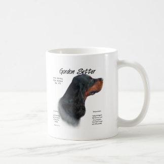 ゴードンセッターの歴史のデザイン コーヒーマグカップ