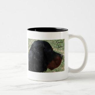 ゴードンセッターは陶磁器のマグに2ある調子を与えました ツートーンマグカップ