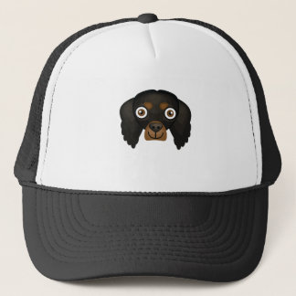 ゴードンセッター犬の品種-私の犬のオアシス キャップ