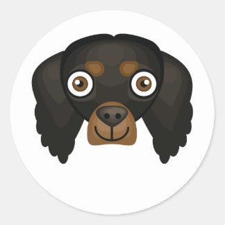 ゴードンセッター犬の品種-私の犬のオアシス ラウンドシール