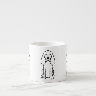 ゴードンセッター犬の漫画 エスプレッソカップ