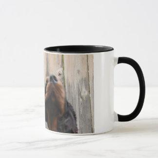 ゴードン! ゴードン! 、ゴードンセッターの陶磁器のマグ マグカップ