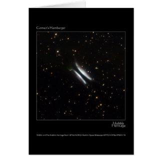 ゴーメッツのハンバーガーのハッブルの望遠鏡の写真 カード