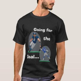ゴールのTシャツのために行くこと Tシャツ