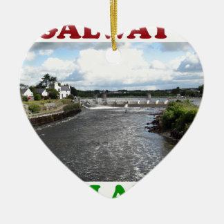 ゴールウェイアイルランド3 セラミックオーナメント
