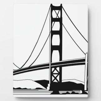 ゴールデンゲートサンフランシスコ フォトプラーク