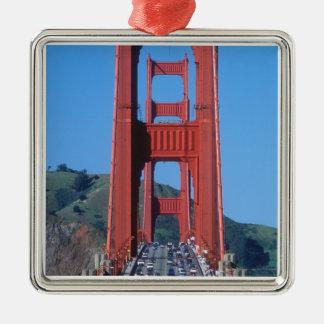 ゴールデンゲートブリッジおよびサンフランシスコ湾 メタルオーナメント