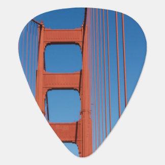 ゴールデンゲートブリッジのギターピック ギターピック