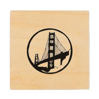 ゴールデンゲートブリッジのサンフランシスコのコースター ウッドコースター