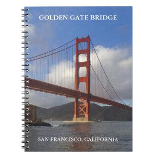 ゴールデンゲートブリッジのノート ノートブック