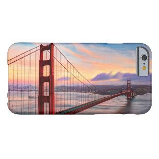 ゴールデンゲートブリッジの美しい冬の日没 BARELY THERE iPhone 6 ケース