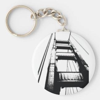 ゴールデンゲートブリッジタワー(o) キーホルダー