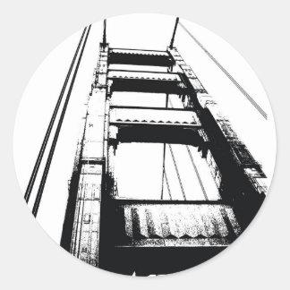 ゴールデンゲートブリッジタワー(o) ラウンドシール