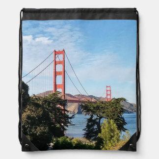 ゴールデンゲートブリッジ、カリフォルニアカリフォルニア ナップサック